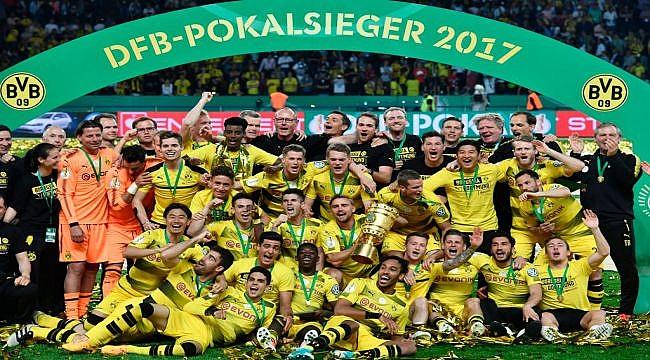 Almanya Kupası'nın sahibi Dortmund