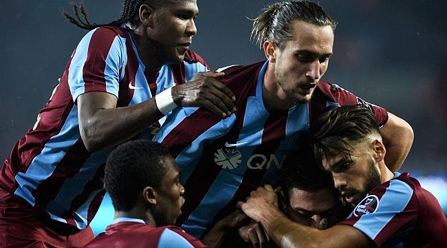 Deplasmanların takımı Trabzon
