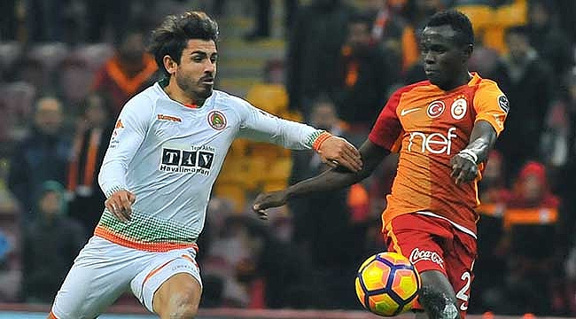 Galatasaray Alanyaspor deplasmanında