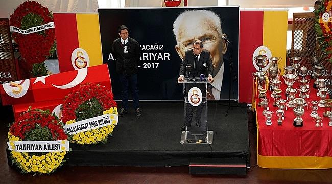 Galatasaray, Ali Tanrıyar'ı uğurladı