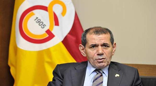 Galatasaray Başkanı Dursun Özbek açıklamalarda bulundu