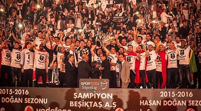 Beşiktaş'ın artık 3 yıldızı var