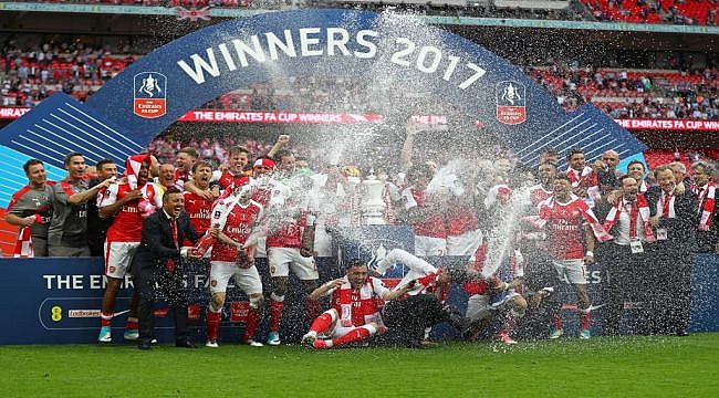 Wembley'de zafer Arsenal'in