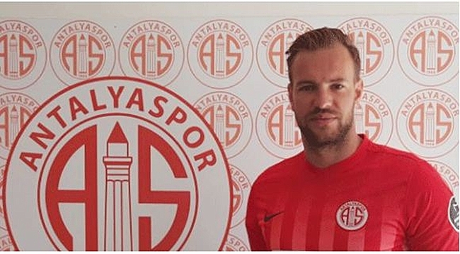 Belçikalı kaleci Ruud Boffin Antalyaspor'da