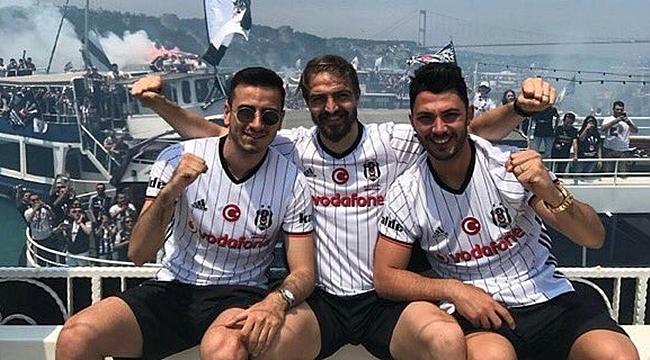 Beşiktaş'ta kutlama programı başladı