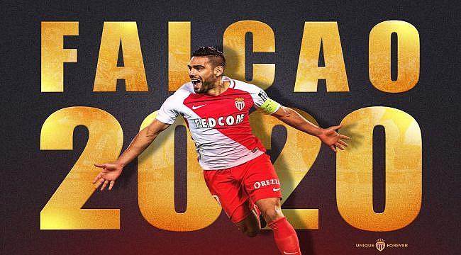 Falcao Monaco ile sözleşmesini uzattı