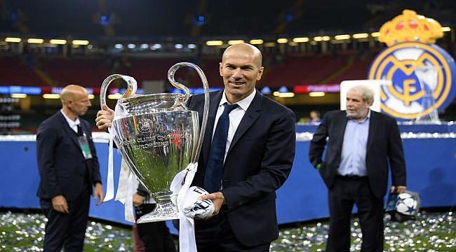 Kupaların efendisi Zinedine Zidane