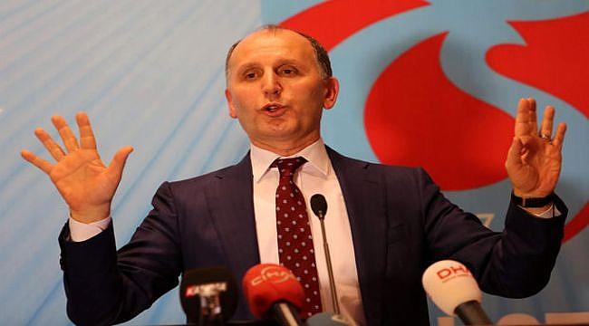 Muharrem Usta: Trabzonspor'un her zaman zirvede olması önemli