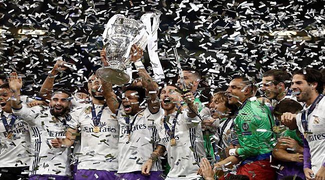 Real Madrid 12. kez Avrupa'nın en büyüğü