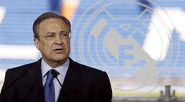 Real Madrid'e Perez'den astronomik prim