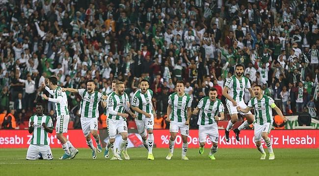 Türkiye Kupası Şampiyonu Atiker Konyaspor