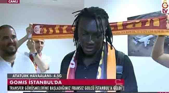 Ve Bafetimbi Gomis İstanbul'da