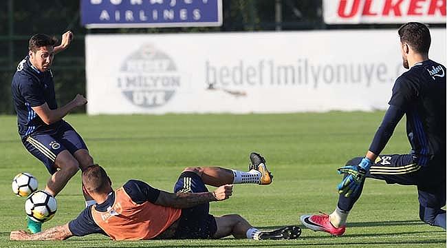 Fenerbahçe'de iki saatlik idman