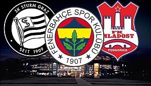 Fenerbahçe'nin rakibi Sturm Graz oldu
