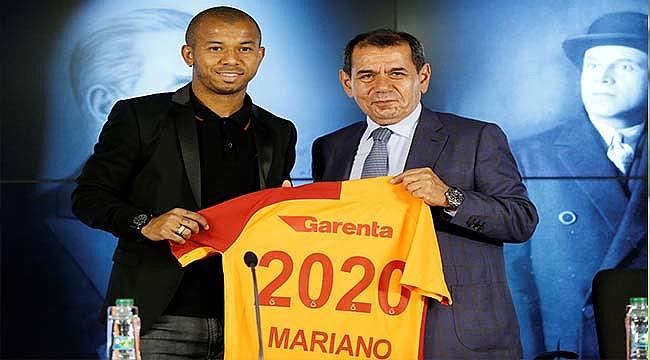 Galatasaray'ın yeni transferi Mariano'dan ilk açıklamalar