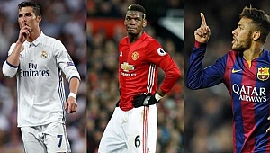 İşte tarihin en pahalı 10 transferi!