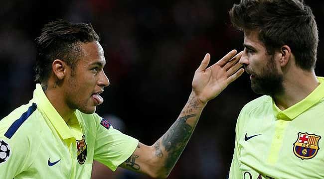 Neymar'ın geleceğini Pique açıkladı