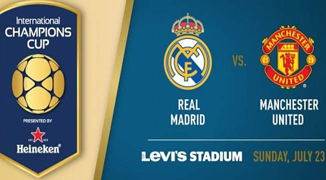 Real Madrid - Manchester United maçı kaçta, hangi kanalda