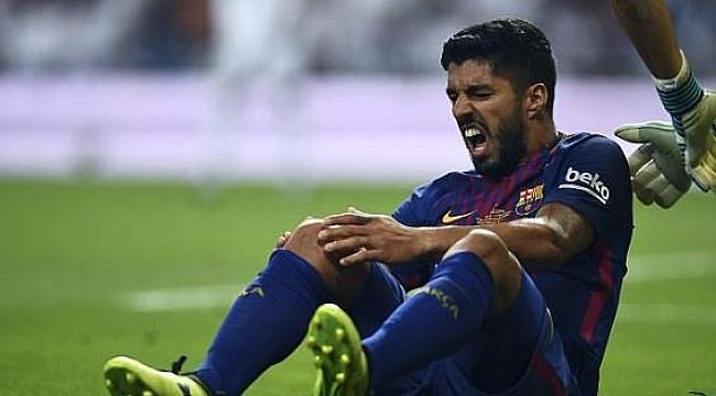 Barcelona'da Suarez şoku