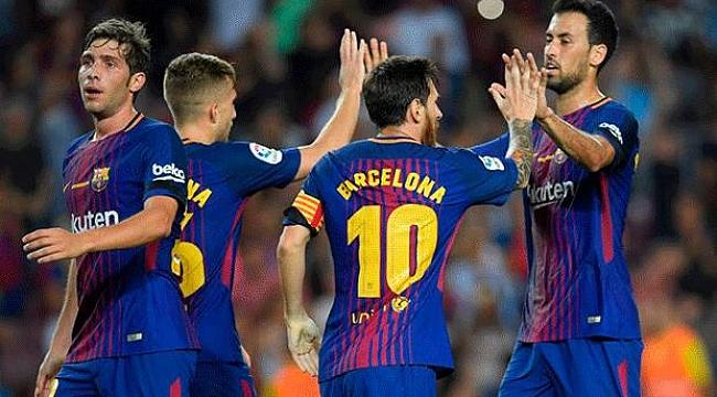 Barcelona kendini sıkmadı: 2-0