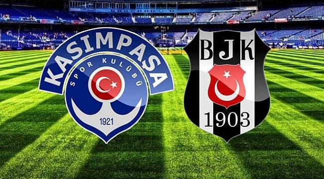 Beşiktaş Kasımpaşa karşısında