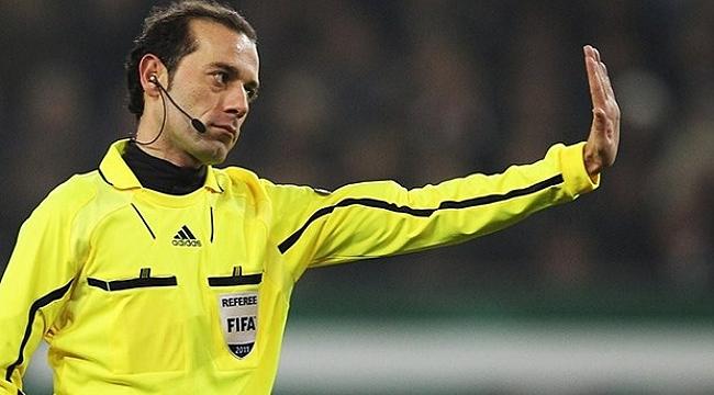 Cüneyt Çakır'a FIFA'dan yeni görev