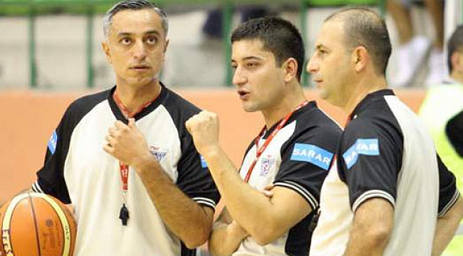 Eurobasket'te 2 Türk hakem
