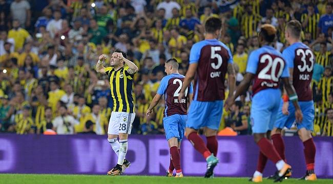 Fenerbahçe ve Trabzonspor Kadıköy'de puanı paylaştı