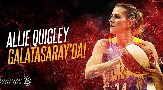 Galatasaray, Fenerbahçe'den Alexandria Quigley'i transfer etti.