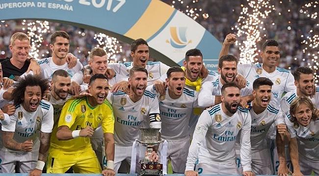 İspanya Süper Kupası da Real Madrid'in