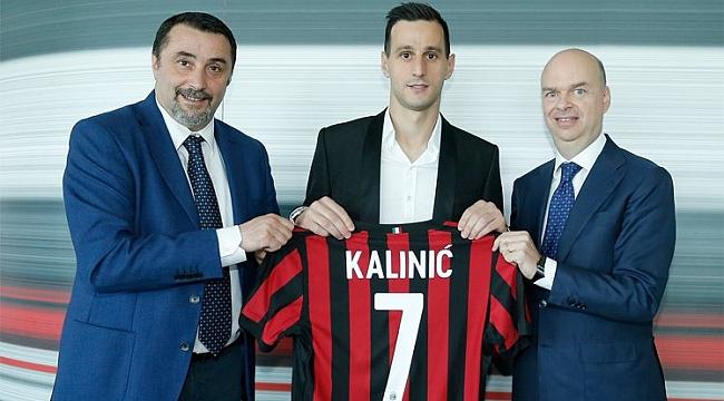 Kalinic resmen Milan'da!