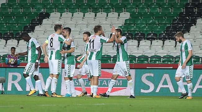 Konyaspor Gençlerbirliği'ni dağıttı: 3-0