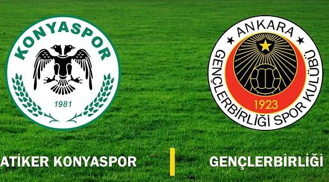 Konyaspor, Gençlerbirliği'ni konuk ediyor