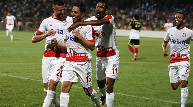 Nasri attı, Antalyaspor 1 puan aldı