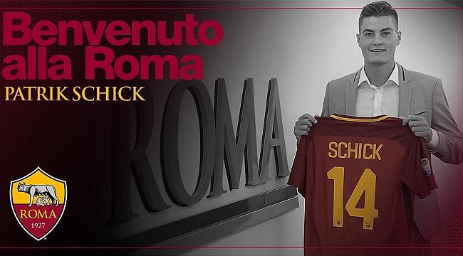 Patrik Schick Roma'ya imzayı attı