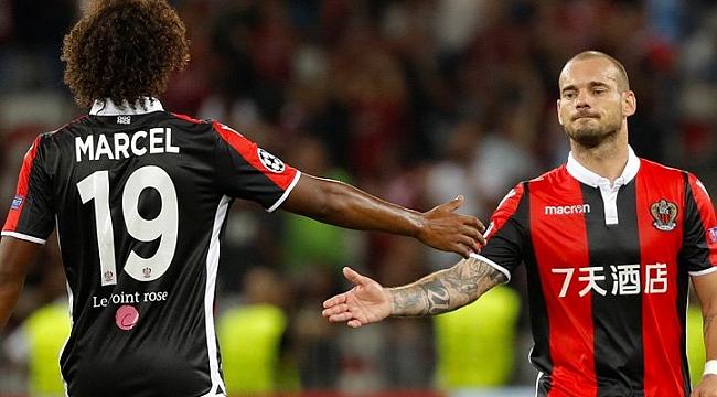 Sneijder'li Nice Avrupa Ligi yolcusu
