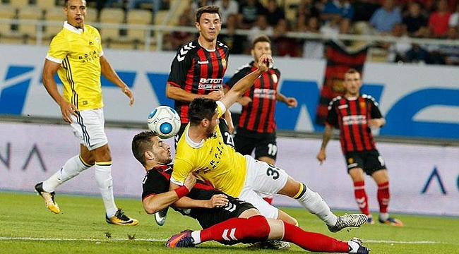 Vardar Fenerbahçe'yi şok etti
