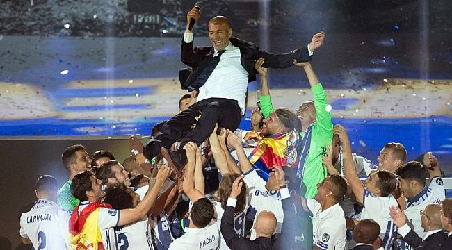 Zidane çok mutlu