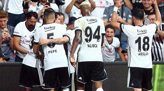 Beşiktaş ligde de hız kesmedi