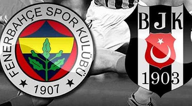 Fenerbahçe Beşiktaş karşı karşıya