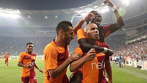 Galatasaray Bursa'da geri döndü