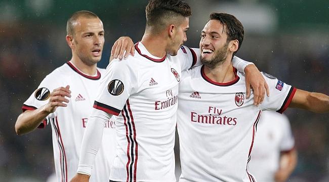 Hakan coştu, Milan farka gitti
