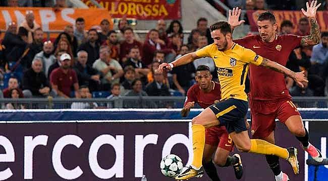 Roma Atletico Madrid'e diş geçiremedi