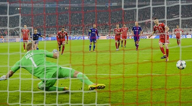 Bayern kendini sıkmadı