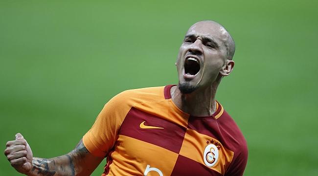 Galatasaray'ı Maicon uçurdu