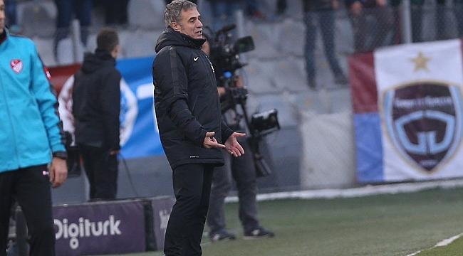 Trabzonspor'da Ersun Yanal sansürü