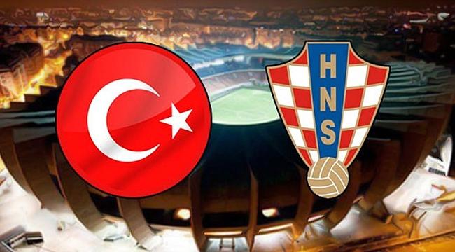Türkiye - Hırvatistan maçı ne zaman saat kaçta hangi kanalda? Canlı izle!