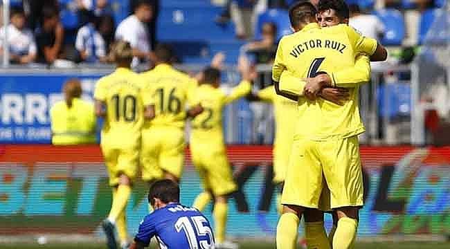 Villarreal golcüleriyle güldü
