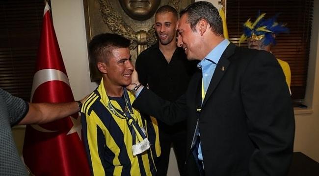 Ağrı'lı Ramazan'ın Fenerbahçe ve Ali Koç hayali gerçek oldu