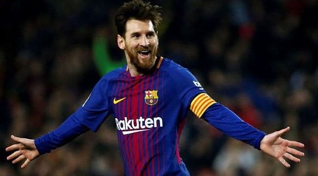 Barça'dan Messi'ye büyük onur